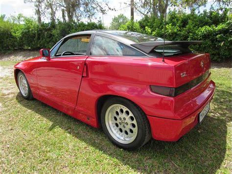 Alfa Romeo Sz For Sale by 1991 Alfa Romeo Sz For Sale Classiccars Cc 832314