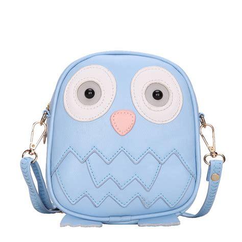 Children Bags Blue owl children travel shoulder bag backpack purses