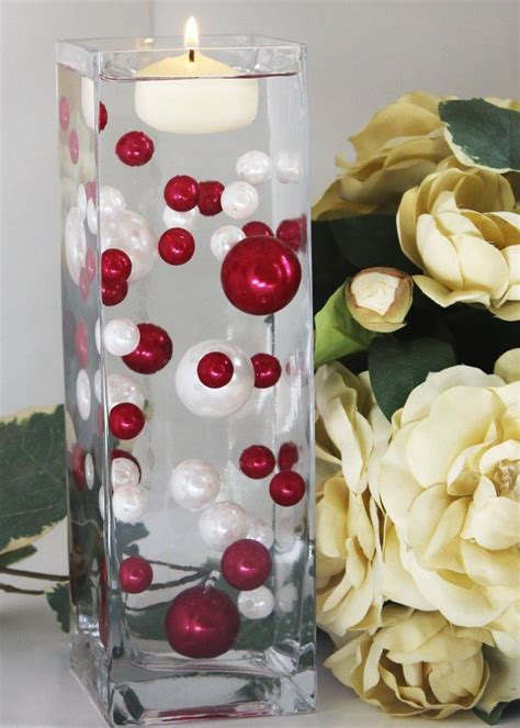 28 Best Pearl Centerpiece Images On Pinterest Decorating Water Pearl Centerpieces