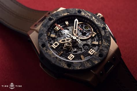 How Big Is A 2 Car Garage by Hands On The Hublot Big Bang Ferrari King Gold Carbon