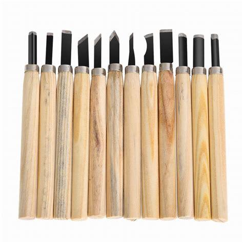 Pisau Kayu 8 pisau ukir pahat kayu 12 in 1 jakartanotebook