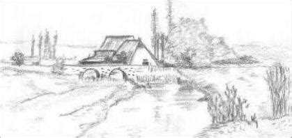 landscape drawing ideas drawing pencil sketches