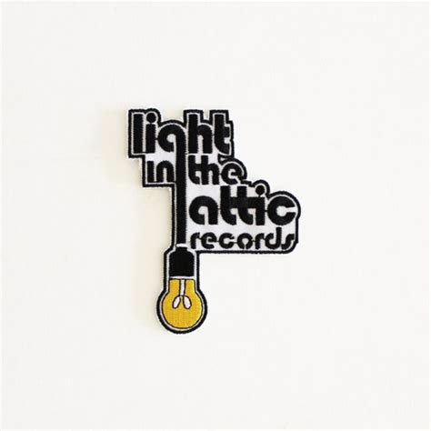 Light In The Attic Records by Light In The Attic Iron On Patch Light In The Attic Records