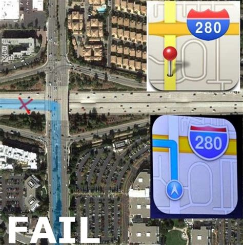 Google Maps Meme - ios6 maps icon fails gives wrong direction itech news net