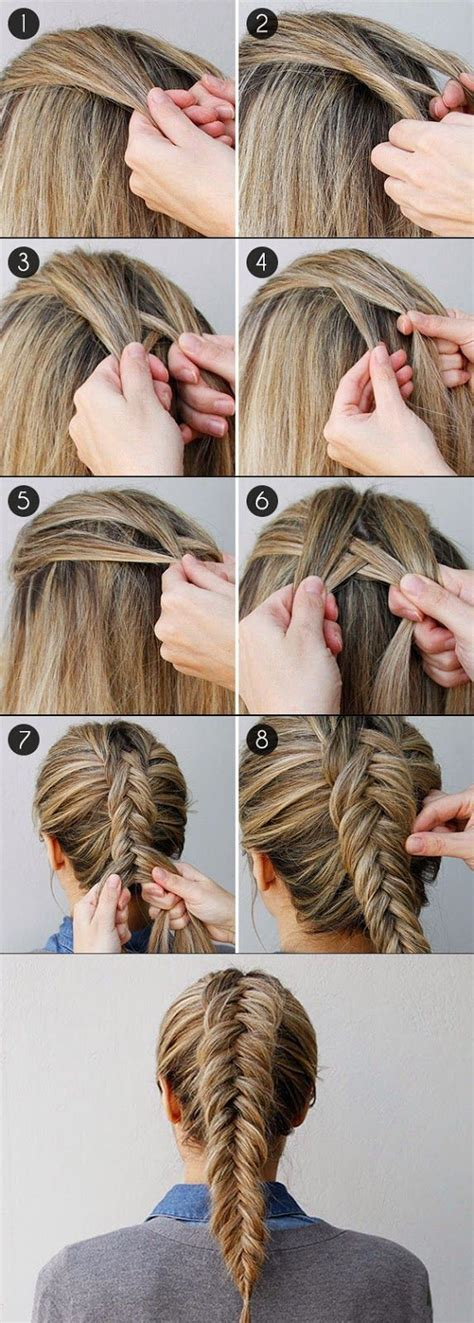 hairstyles school edmonton how to fishtail braid your own hair hairstyle ideas
