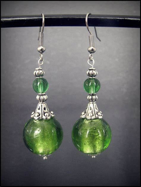 Handmade Jewelry Earrings - best 25 earrings handmade ideas on diy glass