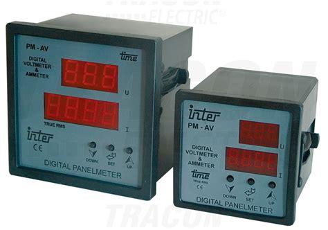 Gae Voltmeter Ac 96 500v 1 digit 225 lny 233 r a voltmeter s nastavite箴n 253 m prevod