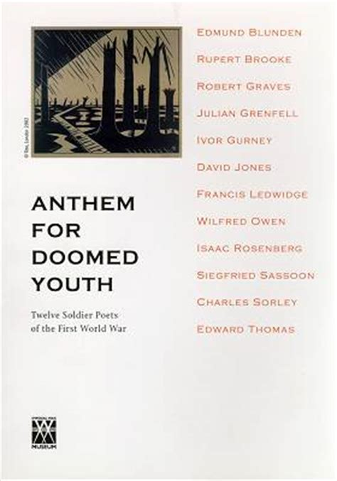 libro anthem for doomed youth behind the lines on the 65th anniversary of ivor gurney s death roderic dunnett takes a look