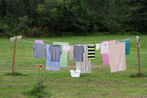 backyard clothesline clothesline profile life on the clothes line