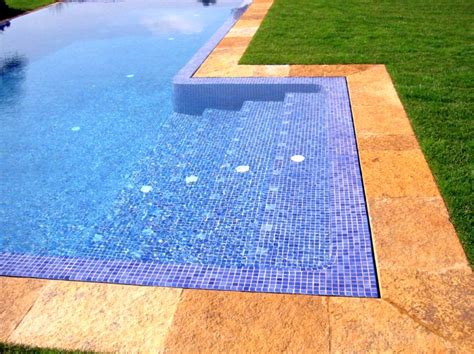 best pool tile blue mosaic best pool tile
