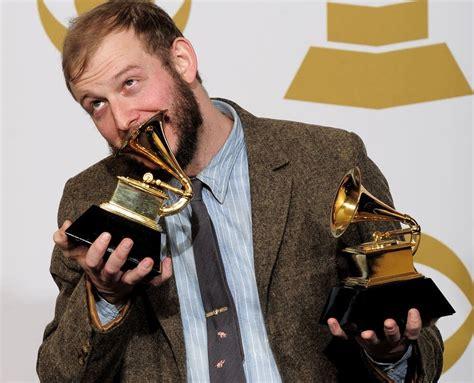 Justin Vernon Cabin by Eau S Bon Iver Wins Best New Artist Grammy