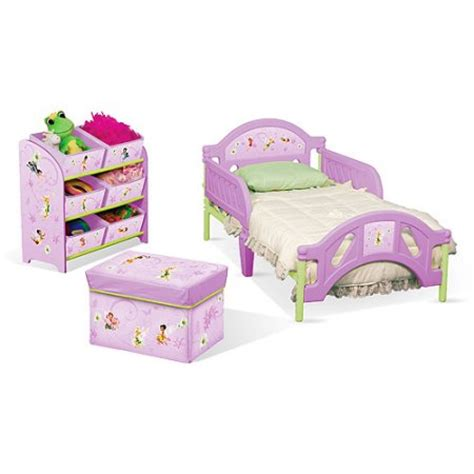 Baby Bedroom In A Box Disney Tinkerbell Fairies Toddler Room In A Box Walmart