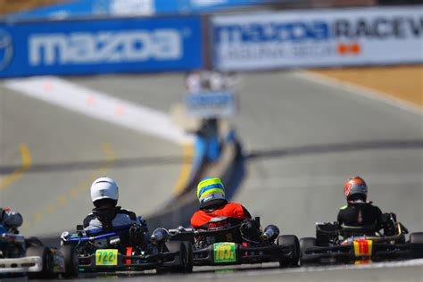 Racing Shift by Shifter Kart Racing At Laguna Seca Build Race