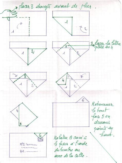 Origami Envelope A4 Paper - enveloppe pliage a4 sans d 233 coupe another way to fold an