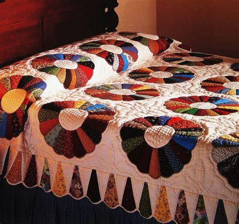Dresden Patchwork - dresden plate vintage quilt pattern patchwork grandmother