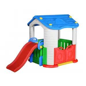 maison enfant toboggan