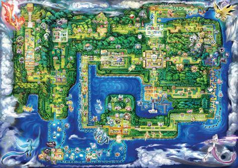 pokemon lets  kanto map hd wallpaper background
