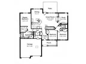 craftsman open floor plans eplans craftsman house plan open floor plan with split bedrooms 1818 square and 3