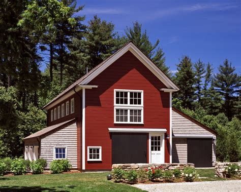 Barn Shed House by Riverview House Traditional Garage And Shed Boston