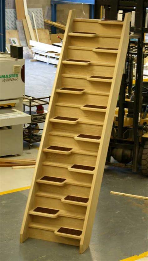 stair plan building plan for alternating tread staircase studio