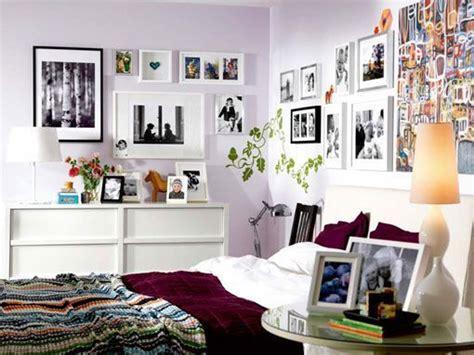 decorar habitaciones fotos colocar fotos en las paredes del dormitorio