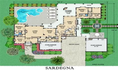 house plans with house floor plans modern house