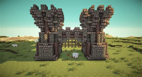 Home Design Subreddit minecraft working portcullis gates on piratecraft