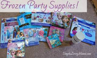 Simple Birthday Decoration For Kids At Home planning a simple frozen birthday party simple living mama
