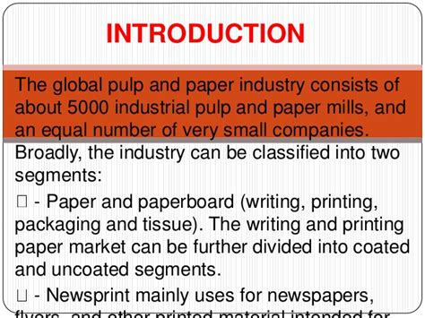 writing printing paper mills in india pulp and paper industry