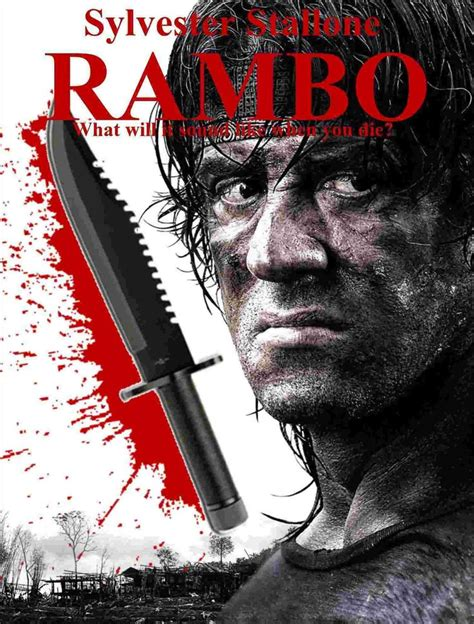 film action rambo 4 rambo 2008 classic cinema art pinterest movie films
