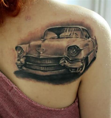 27 car parts tattoos