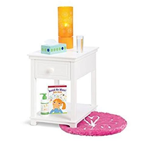 amazon bedroom accessories amazon com american girl myag dreamy nightstand set for