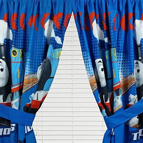 thomas the train curtains 4pc thomas the train curtain set faster tank engine drapes
