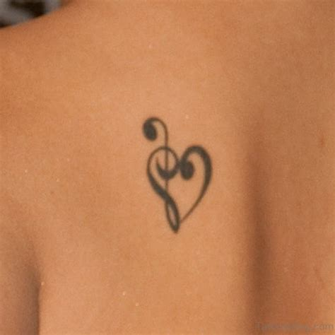 35 musical note tattoo designs on shoulder