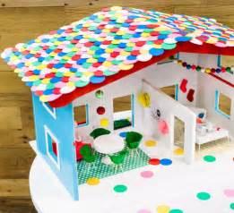le aus papier selber basteln puppenhaus selber bauen und spielecke im kinderzimmer
