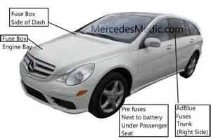 mercedes relay location mercedes wiring diagram and circuit schematic