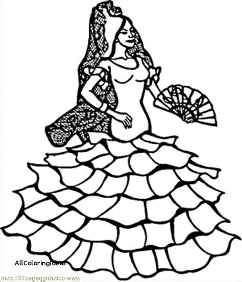 colouring pages spanish dancer spanish coloring pages free download best spanish