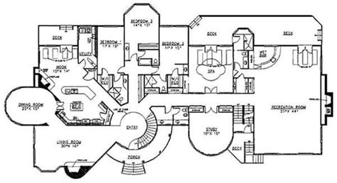 Superior 2 Story House Floor Plans With Measurements #3: Modern-mansion-house-plans-new-luxury-mansions-floor-plans-homes-zone-of-modern-mansion-house-plans.jpg