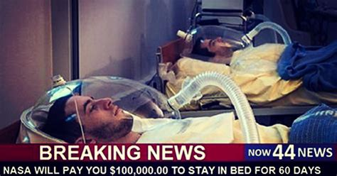 nasa stay in bed nasa wants to pay you 100 000 to stay in bed for two months