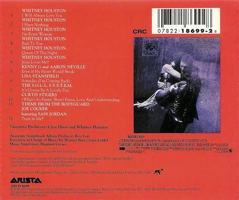Cd Houston Ost The Bodyguard the bodyguard original soundtrack album cd 78221869928 ebay