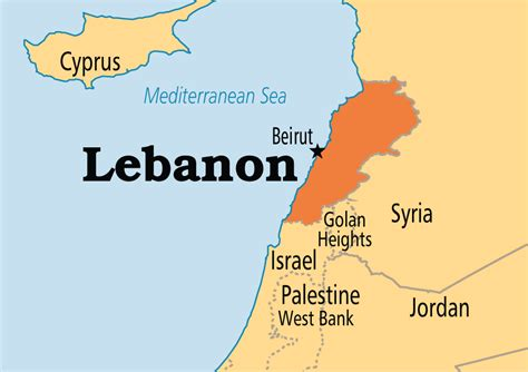 lebanon on world map lebanon operation world