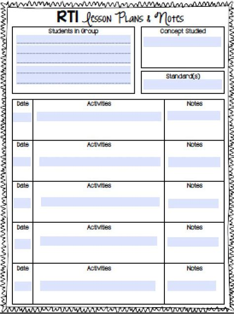 Rti Notebook Now Includes Free Editable Forms Perfect For Kicking Our Your Math Rti Small Rti Documentation Templates