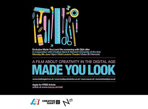 graphics design norwich norwich screening of graphic design film made you look