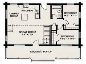 Small Log Home Floor Plans by Gallery For Gt Small Houses Floor Plans