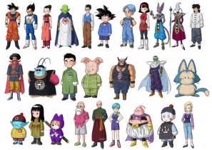 dragon ball battle gods characters 3d4d deviantart