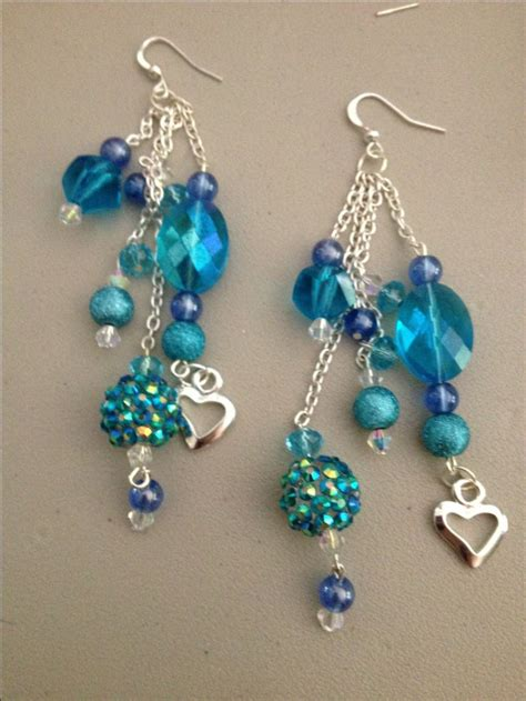 Make Handmade Earrings - 1000 ideas about dangle earrings on enamel