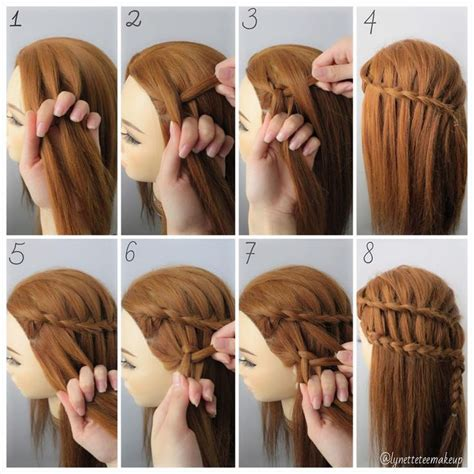 cool braided hairstyles step by step ladder braid tutorial step by step google search girls