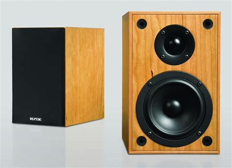 krix brix bookshelf speakers for stereo or multi room audio