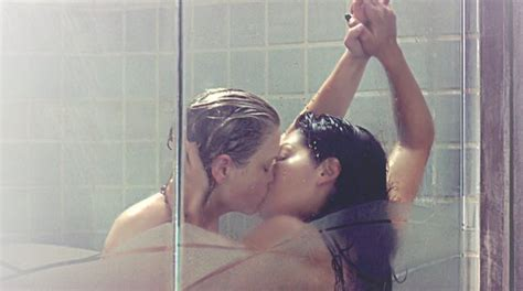 bathroom scene hot this week in lesfan tv lesfan lesbian fanfiction and