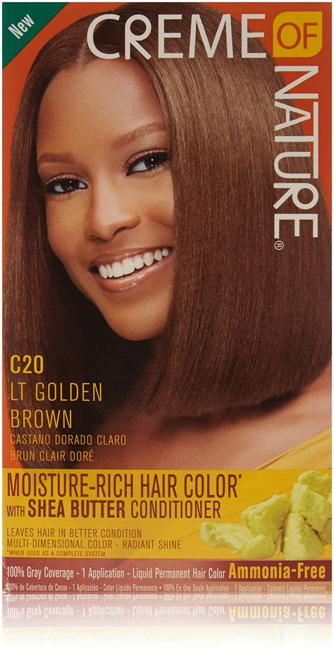 creme of nature hair colors creme of nature shine color 7 64